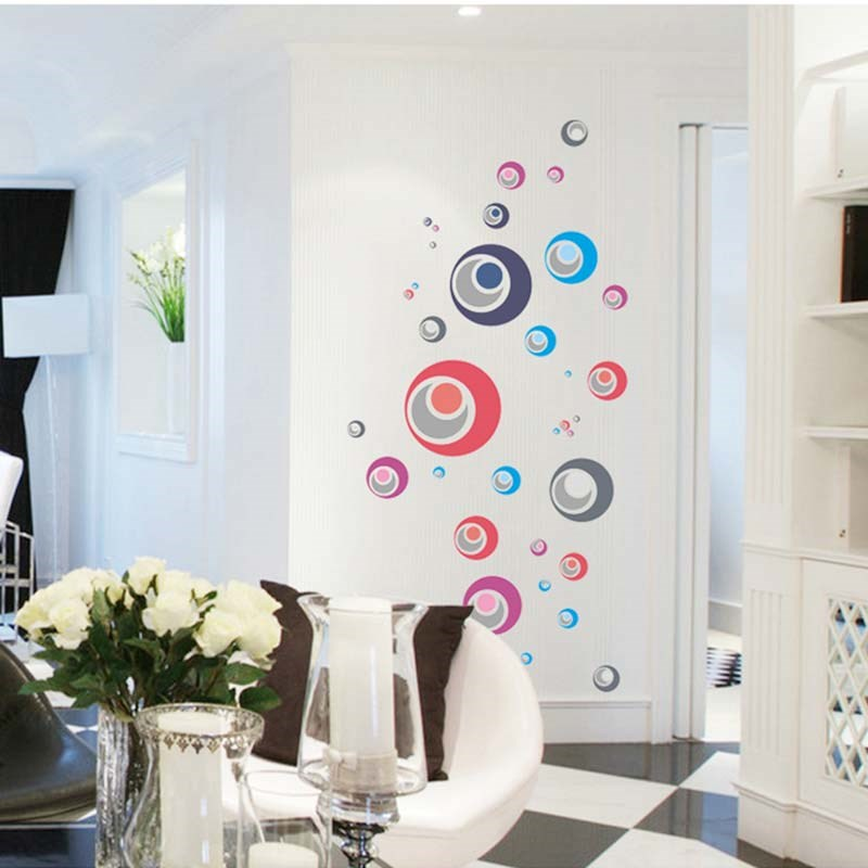 Wall sticker product 2013 2016 ay1926 hubble bubble decorative diy wall sticker adesivo for Autocollant decoratif mural